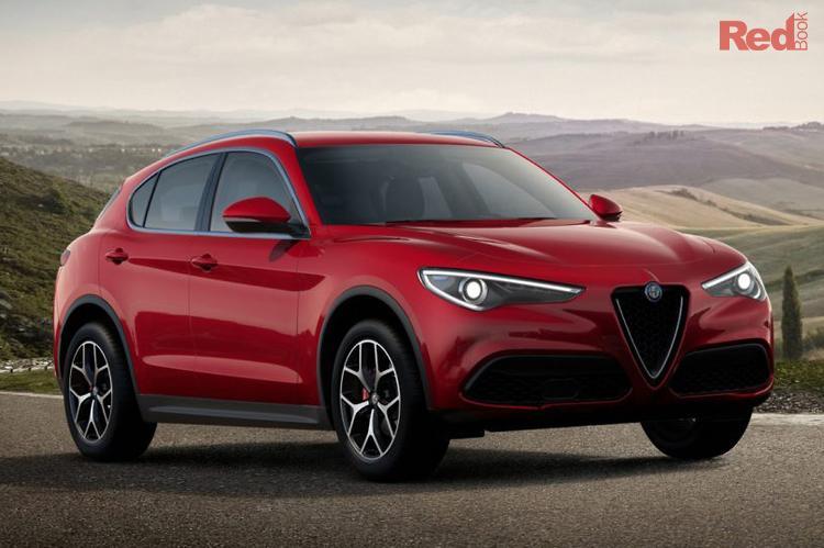 2021 Alfa Romeo Stelvio Sport Series 2 MY21 AWD