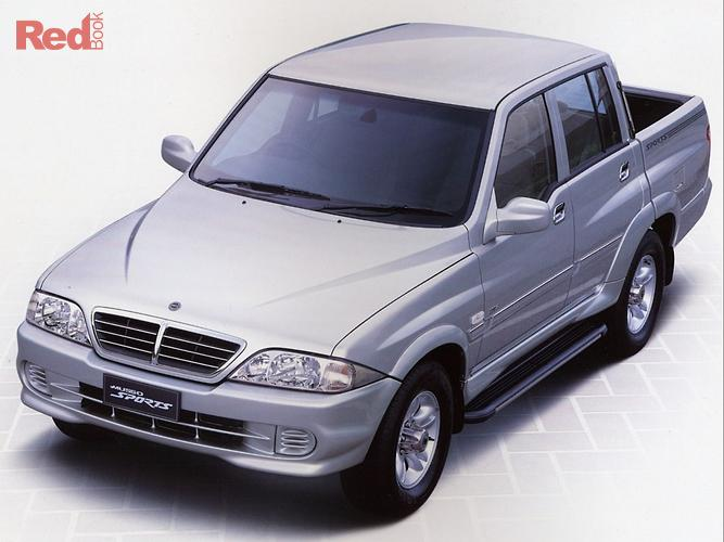 2004 Ssangyong Musso Sports 4X4 Dual Range