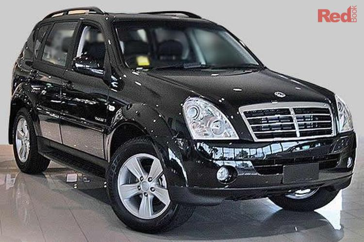 2006 Ssangyong Rexton RX270 Sports Y220 II MY07 4X4 Constant