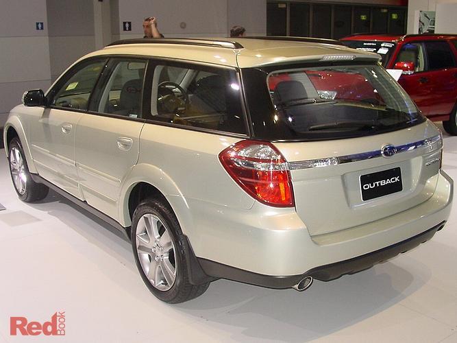 2007 Subaru Outback AWD 3GEN MY07