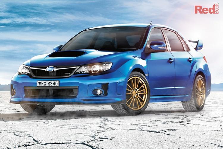 2013 Subaru Impreza WRX RS40 G3 MY14