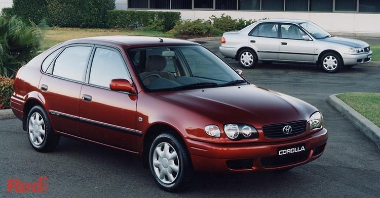 2001 Toyota Corolla Ascent AE112R