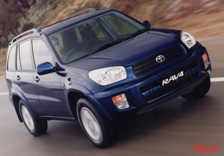 2001 Toyota RAV4 Cruiser ACA21R