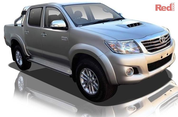 2013 Toyota Hilux SR5 KUN26R MY12 4X4