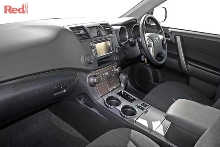 2012 Toyota Kluger Altitude GSU45R MY12