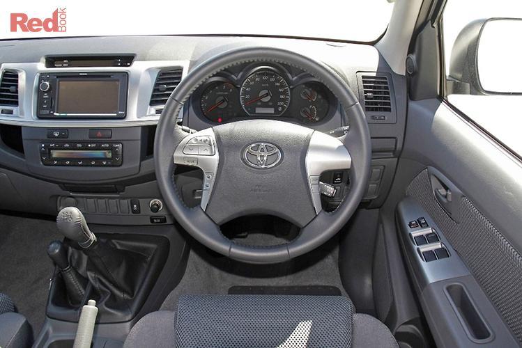 2013 Toyota Hilux SR5 KUN26R MY12