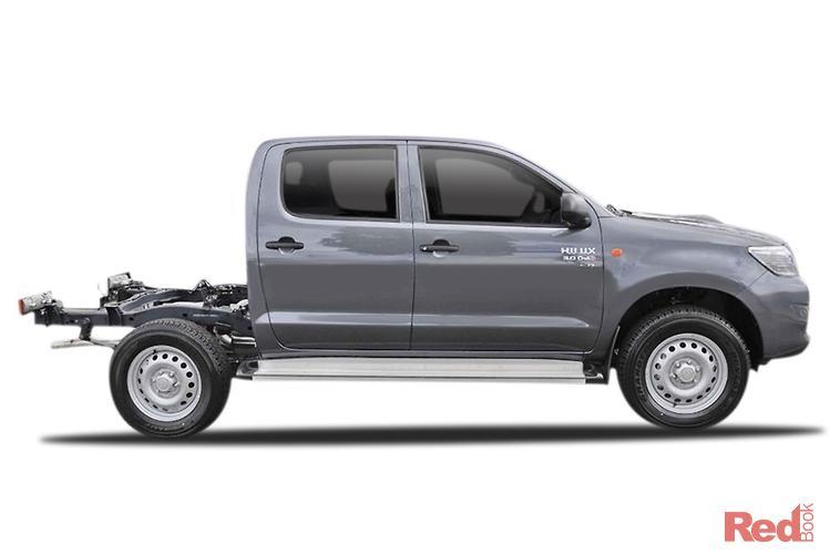 2014 Toyota Hilux SR KUN26R MY14 4X4 Dual Range