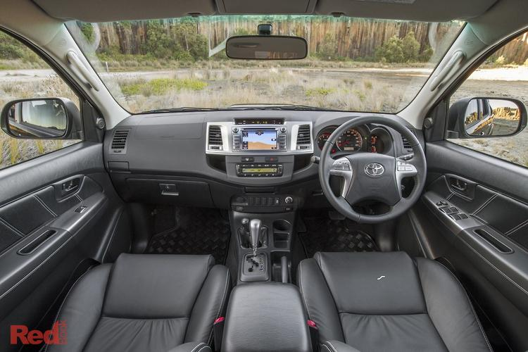 2014 Toyota Hilux Black Limited Edition KUN26R MY14 4X4 Dual Range