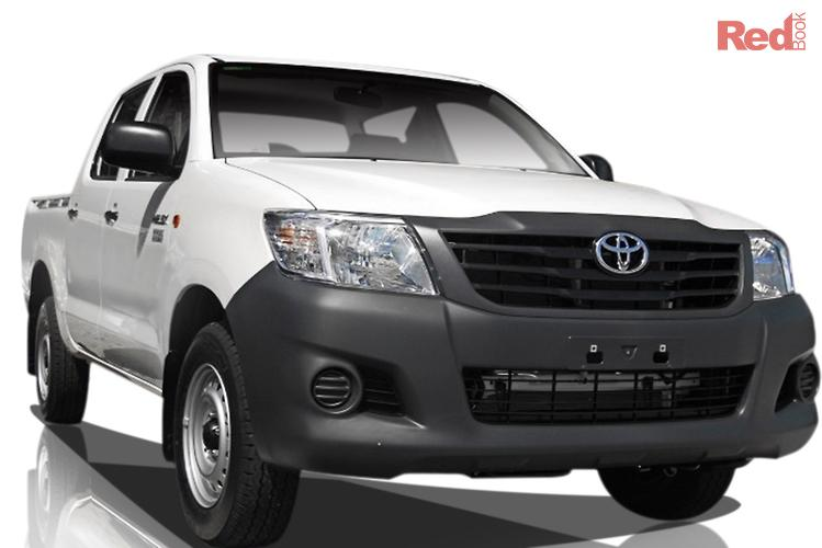 2013 Toyota Hilux Workmate TGN16R MY12