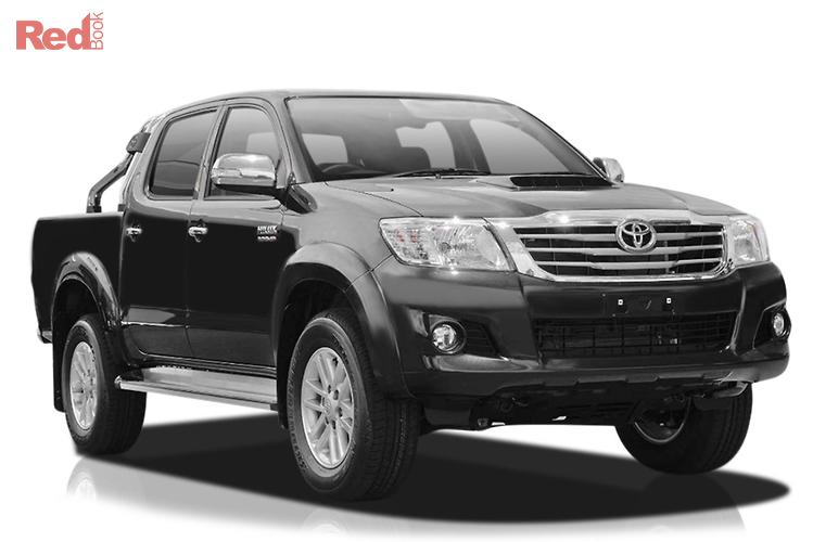 2015 Toyota Hilux SR5 KUN26R MY14 4X4 Dual Range