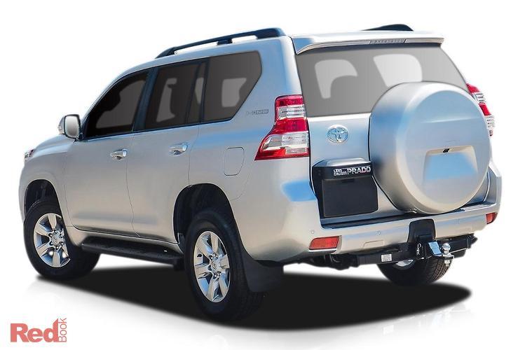 2017 Toyota Landcruiser Prado GXL GDJ150R 4X4 Dual Range