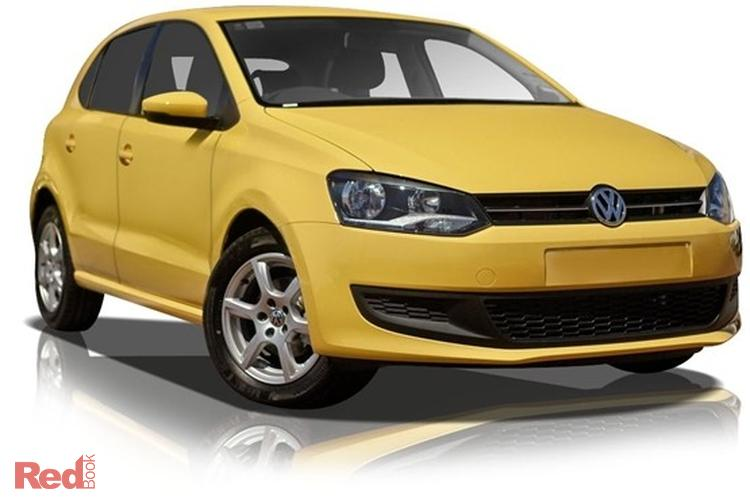 2011 Volkswagen Polo 77TSI Comfortline 6R MY11