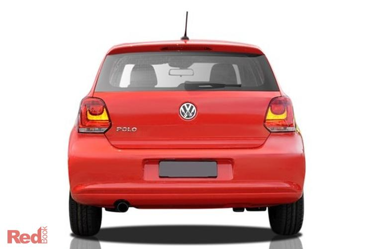 2013 Volkswagen Polo Trendline 6R MY13.5