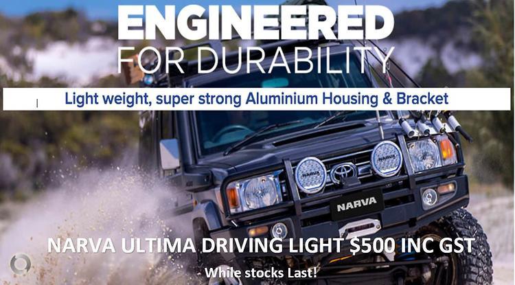 Narva Ultima LED Driving Light