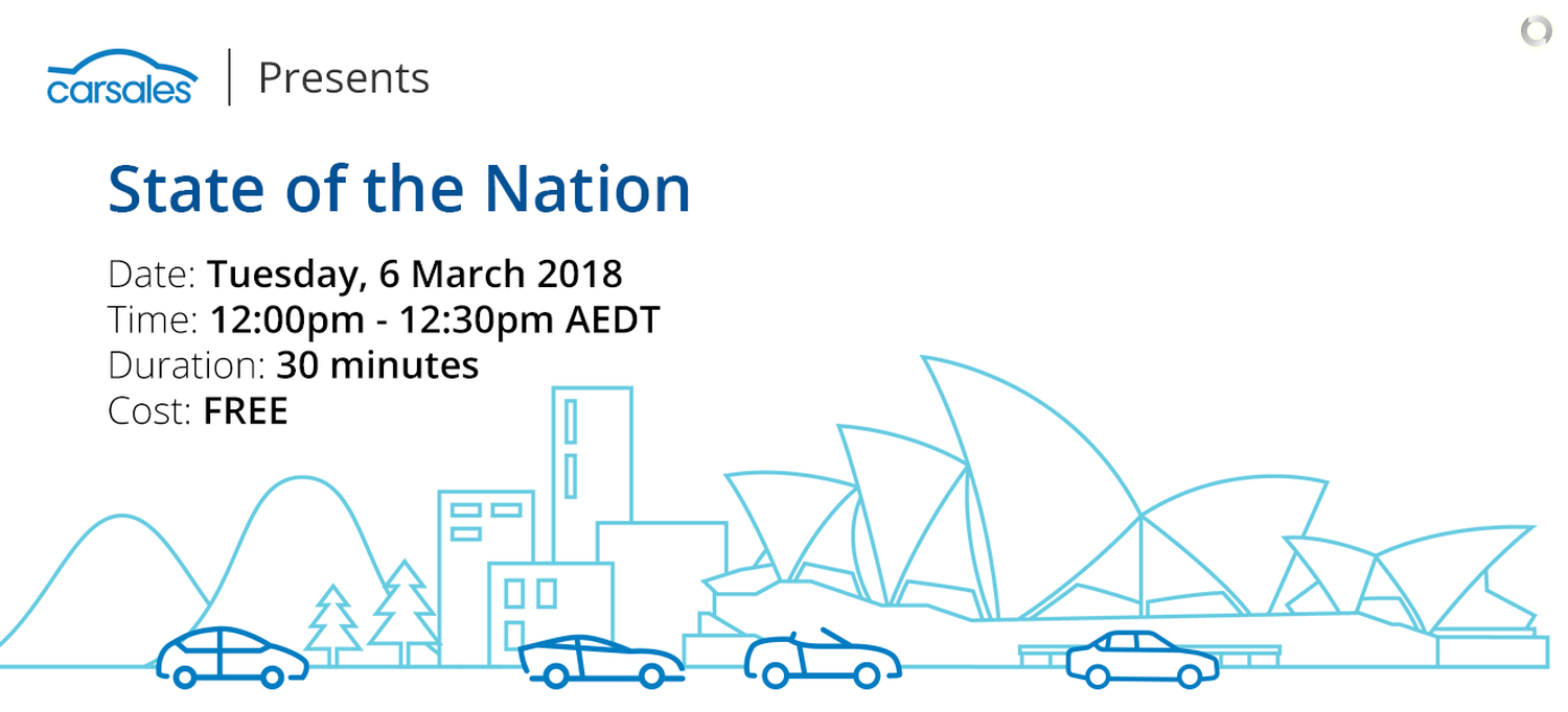 Free Webinar: carsales presents | State of the Nation - DataMotive ...